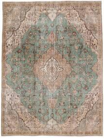 Vintage Heritage Matta 235X312 Äkta Modern Handknuten Ljusgrå/Ljusbrun (Ull, Persien/Iran)