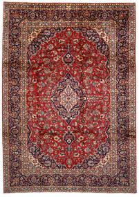 Keshan Matta 250X358 Äkta Orientalisk Handknuten Mörkröd/Mörkblå Stor (Ull, Persien/Iran)