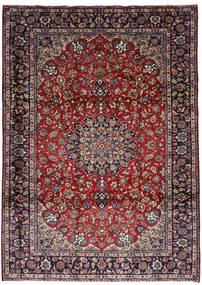 Najafabad Matta 251X348 Äkta Orientalisk Handknuten Mörkröd/Mörkbrun Stor (Ull, Persien/Iran)