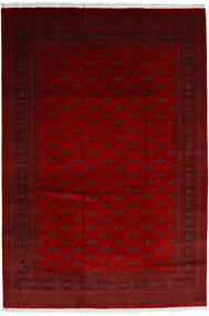 Pakistan Bokhara 3Ply Matta 246X358 Äkta Orientalisk Handknuten Mörkröd/Röd/Mörkbrun (Ull, Pakistan)