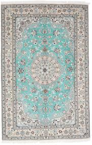 Nain 9La Matta 157X244 Äkta Orientalisk Handknuten Ljusgrå/Vit/Cremefärgad (Ull/Silke, Persien/Iran)
