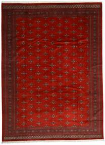Pakistan Bokhara 2Ply Matta 303X408 Äkta Orientalisk Handknuten Mörkröd/Roströd Stor (Ull, Pakistan)