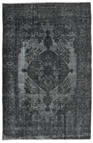 Vintage Heritage Matta 191X295 Äkta Modern Handknuten Mörkblå/Mörkgrå (Ull, Persien/Iran)