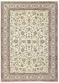 Kashmar Matta 244X344 Äkta Orientalisk Handknuten Beige/Ljusgrå (Ull/Silke, Persien/Iran)