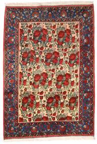 Afshar Matta 164X235 Äkta Orientalisk Handknuten Mörkröd/Svart (Ull, Persien/Iran)