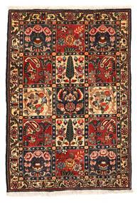 Bakhtiar Collectible Matta 108X161 Äkta Orientalisk Handknuten Mörkbrun/Mörkröd (Ull, Persien/Iran)
