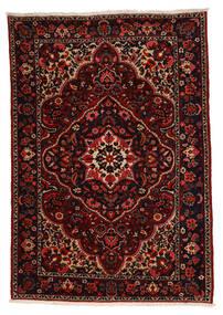 Bakhtiar Collectible Matta 211X304 Äkta Orientalisk Handknuten Mörkbrun/Mörkröd (Ull, Persien/Iran)