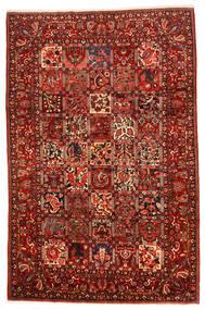 Bakhtiar Collectible Matta 214X328 Äkta Orientalisk Handknuten Roströd/Mörkbrun (Ull, Persien/Iran)
