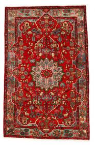 Nahavand Old Matta 160X258 Äkta Orientalisk Handknuten Roströd/Mörkbrun (Ull, Persien/Iran)