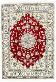 Nain Matta 168X237 Äkta Orientalisk Handknuten Beige/Ljusgrå (Ull, Persien/Iran)