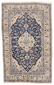 Nain Matta 155X254 Äkta Orientalisk Handknuten Ljusgrå/Mörklila (Ull, Persien/Iran)