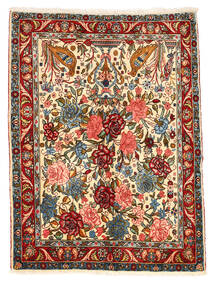 Bakhtiar Collectible Matta 101X148 Äkta Orientalisk Handknuten Mörkgrå/Röd (Ull, Persien/Iran)