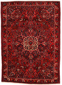 Bakhtiar Collectible Matta 215X295 Äkta Orientalisk Handknuten Roströd/Mörkbrun/Mörkröd (Ull, Persien/Iran)