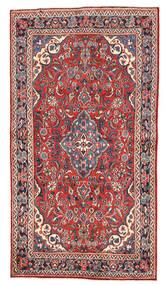 Mehraban Matta 128X235 Äkta Orientalisk Handknuten Mörkgrå/Mörkröd (Ull, Persien/Iran)