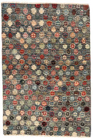 Moroccan Berber - Afghanistan Matta 116X177 Äkta Modern Handknuten Mörkgrå/Svart (Ull, Afghanistan)