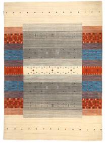 Loribaf Loom Matta 138X197 Äkta Modern Handknuten Beige/Ljusgrå (Ull, Indien)