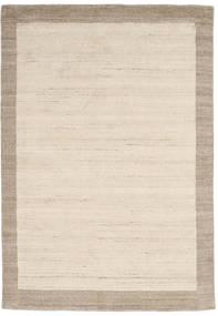 Handloom Frame - Natural/Sand Matta 160X230 Modern Beige/Ljusgrå (Ull, Indien)