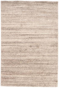 Mazic - Sand Matta 120X180 Äkta Modern Handknuten Ljusgrå/Vit/Cremefärgad (Ull, Indien)