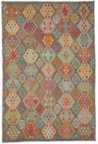 Kelim Afghan Old Style Matta 198X298 Äkta Orientalisk Handvävd (Ull, Afghanistan)